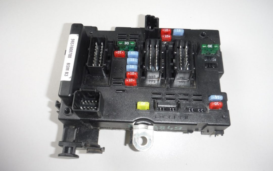 تعمیر جعبه فیوز ۲۰۶ BSM